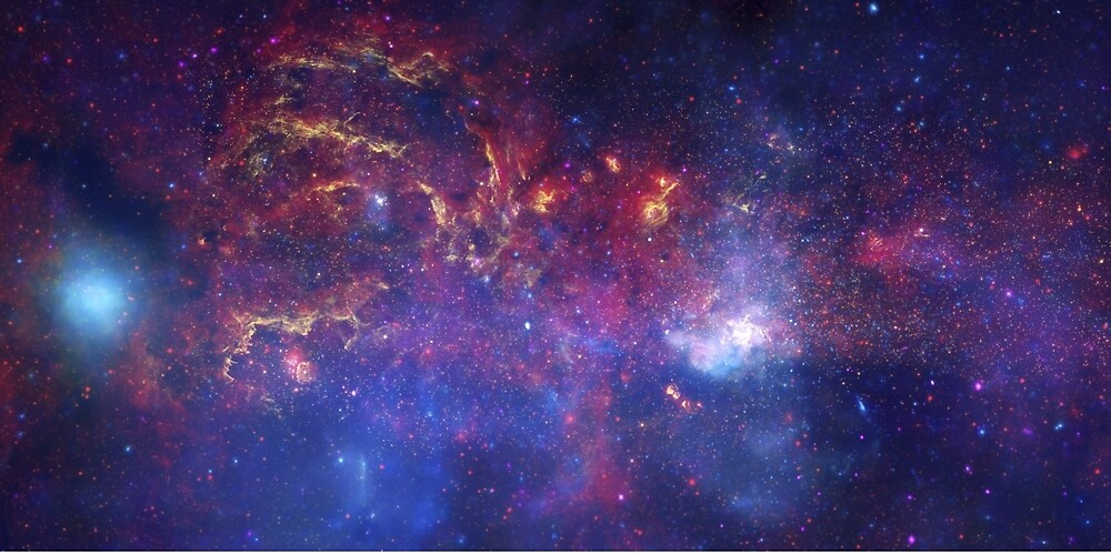 Center of the Milky Way Galaxy by Eag2000