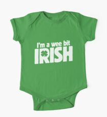 I'm a wee bit Irish for St. Patrick's Day One Piece - Short Sleeve