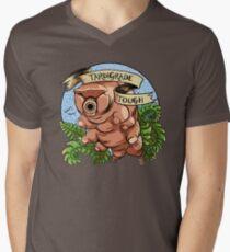 Tardigrade Tough Crest Men's V-Neck T-Shirt