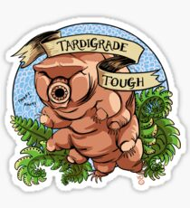 Tardigrade Tough Crest Sticker