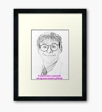 Rick Moranis - Ghostbusters Framed Print