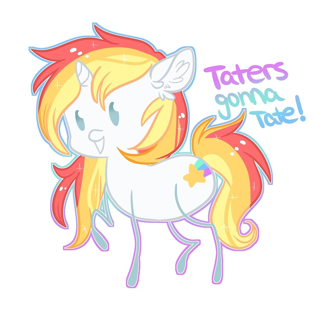 Taters Gonna Tate! by SallyVonLapone
