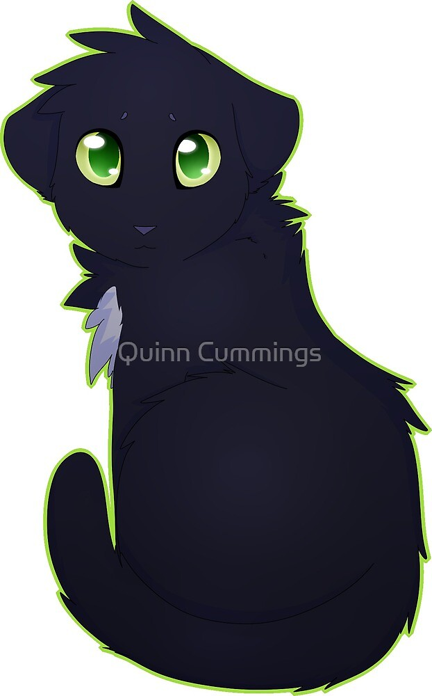 Ravenpaw - Warrior Cats by Quinn Cummings
