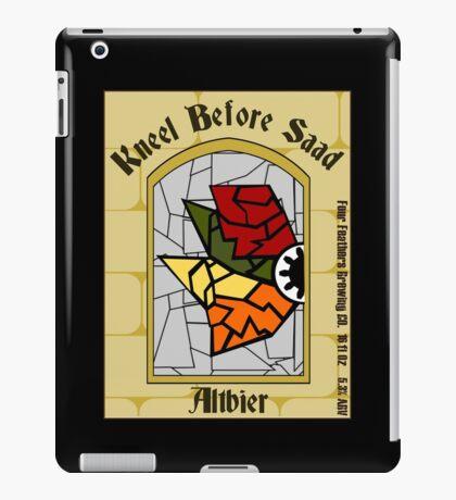 Kneel Before Saad iPad Case/Skin
