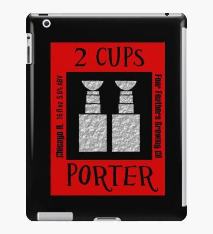 2 Cups iPad Case/Skin
