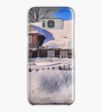Sunny day after a snow storm  Samsung Galaxy Case/Skin