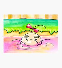 Hot Springs Mr Saturn Photographic Print
