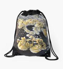 Barnacles on a Rock ~ Bar Harbor, Maine Drawstring Bag