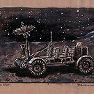 Lunar Rover  by Bob Bello