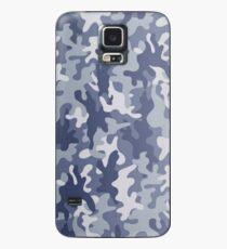 Blue camo phone case Case/Skin for Samsung Galaxy