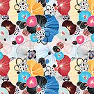 graphic pattern abstraction  by Tanor