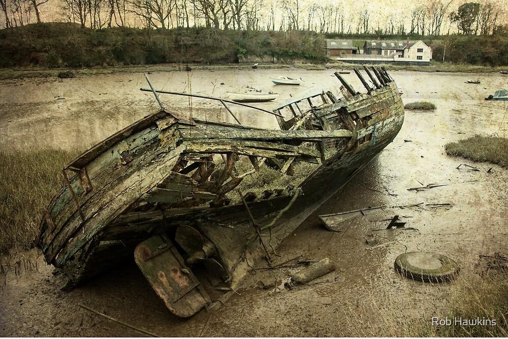 Fremington Boat  by Rob Hawkins