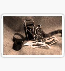 Old camera Sticker