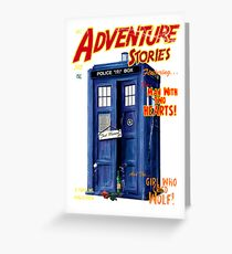 Adventure Stories the man with two hearts Greeting Card