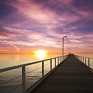 Largs Bay Pink Sunset by jermesky