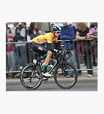 Bradley Wiggins - Tour of Britain 2013 Photographic Print