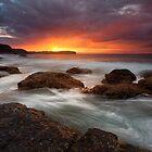 Pebble Beach Dawn by Nick Skinner
