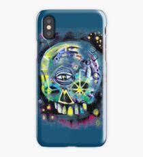 aerosol skull iPhone Case/Skin