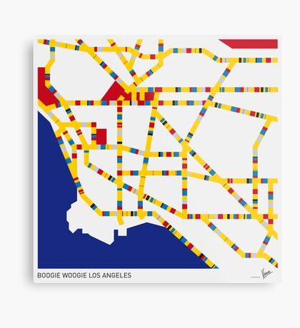 BOOGIE WOOGIE LOS ANGELES Metal Print