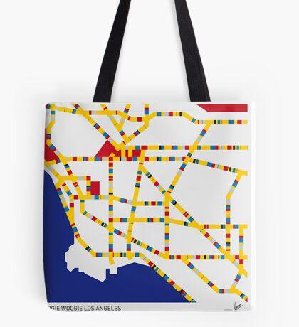 BOOGIE WOOGIE LOS ANGELES Tote Bag
