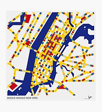 BOOGIE WOOGIE NEW YORK Photographic Print
