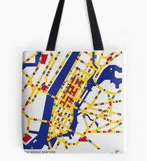 BOOGIE WOOGIE NEW YORK Tote Bag