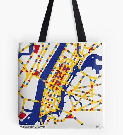 BOOGIE WOOGIE NEW YORK Tote Bag