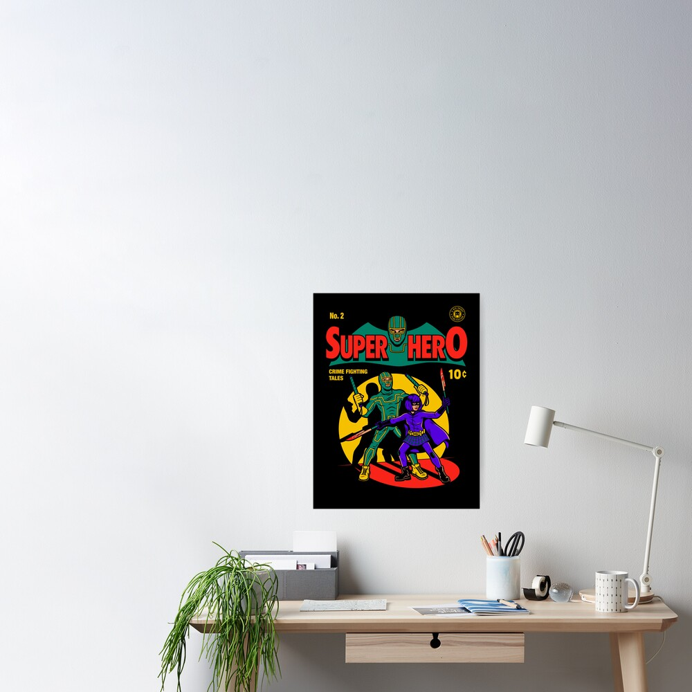 Superhero Comic Poster