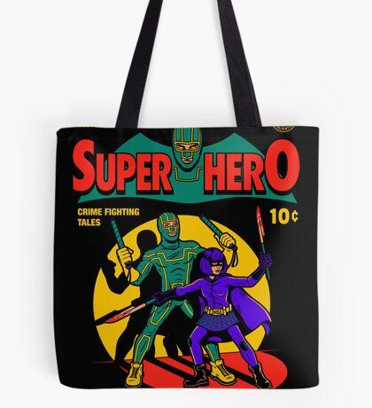 Superhero Comic Tote Bag