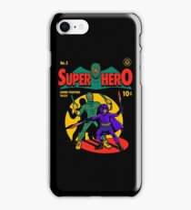 Superhero Comic iPhone Case/Skin