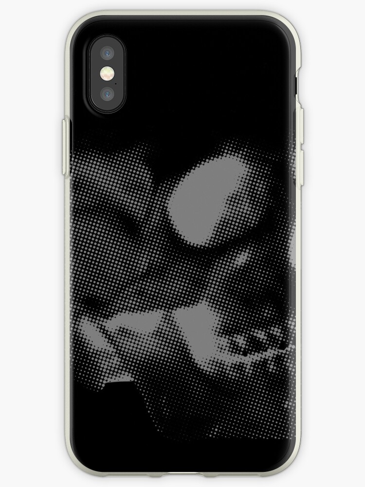 Skull grey on black by goodedesign
