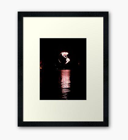Illuminations Globe Framed Print