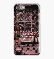 WWII Airplane Cockpit iPhone Case/Skin
