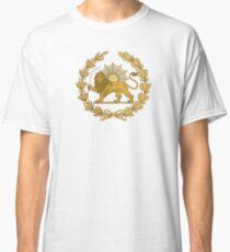 Lion & Sun Emblem of Persia (Iran) Classic T-Shirt