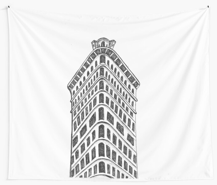 Flatiron Building by pineapplestreet