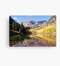 Maroon Bells, Aspen Colorado Canvas Print