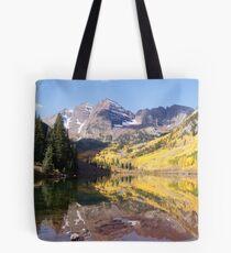Maroon Bells, Aspen Colorado Tote Bag