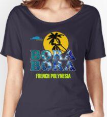 Bora Bora Beach Women's Relaxed Fit T-Shirt