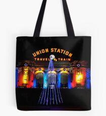 Union Station at Christmas - Denver Colorado Tote Bag