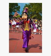 Goofy In the Parade Photographic Print