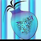 Blue and Purple Vase by IrisGelbart