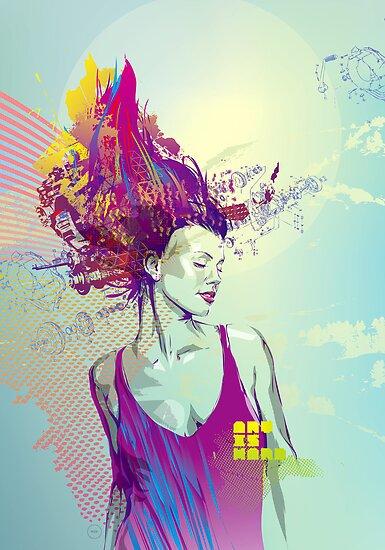 Art is Hard Series: 1/2 by Kaloian Toshev