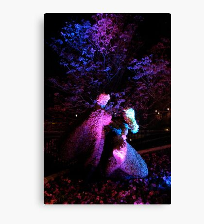 Floral Romance Canvas Print