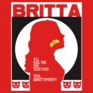 Britta - Meow Meow Beenz Poster by JamieIII