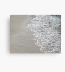 Gentle Waves of the Caribbean  Canvas Print