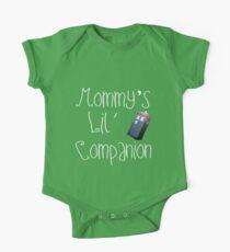 Mommy's Lil Companion One Piece - Short Sleeve