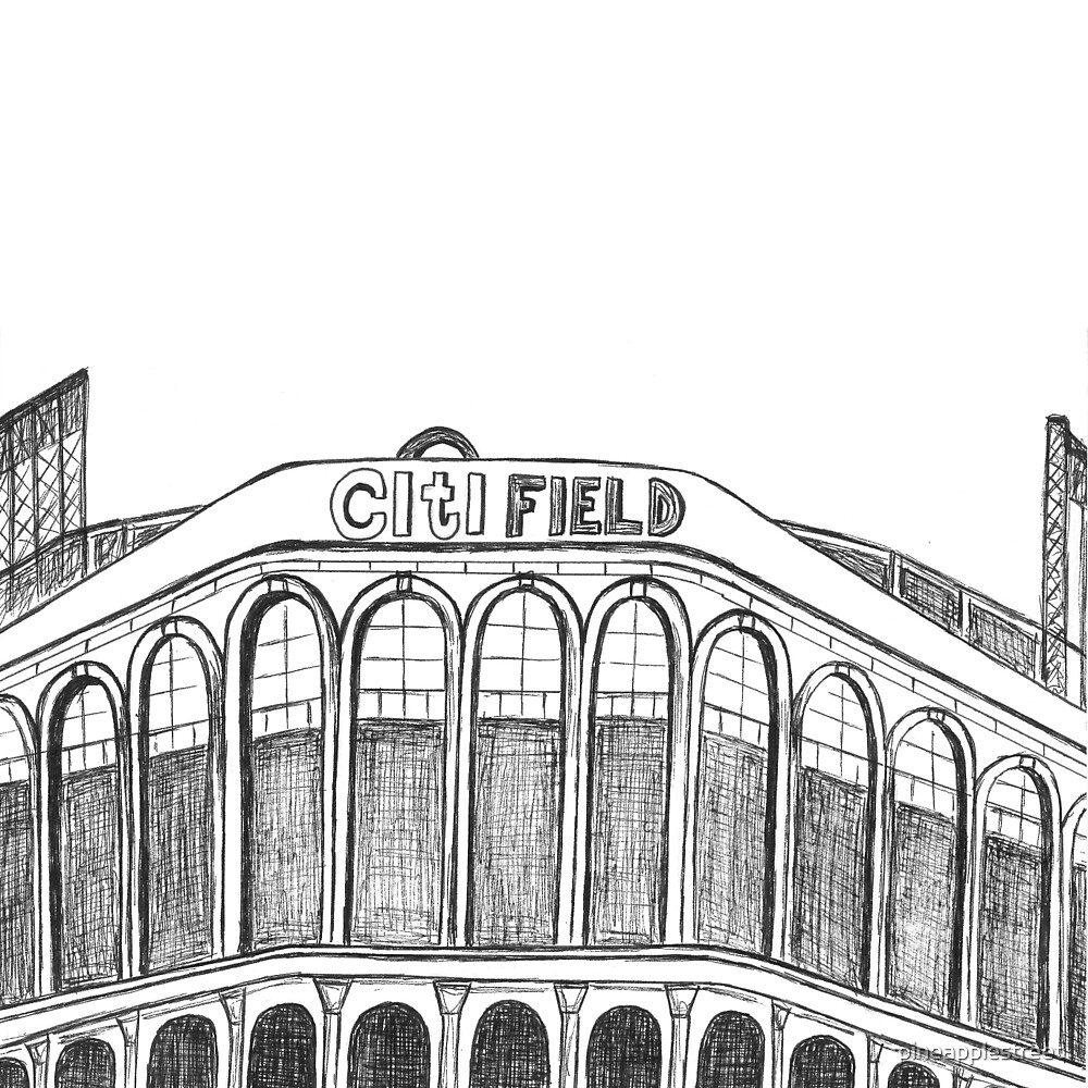 CitiField -NY Mets Stadium by pineapplestreet