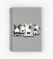 EBT Group Cartoon Design  Spiral Notebook