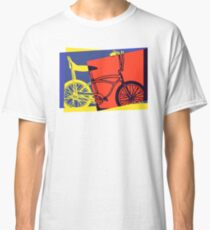 Pop Art Retro Bike Classic T-Shirt