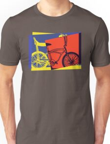 Pop Art Retro Bike Unisex T-Shirt